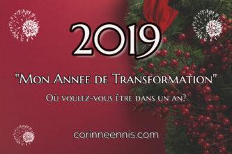 2019 Mon  Année  de Transformation