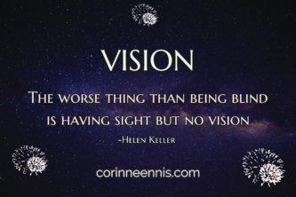 Today's Gold Nugget: VISION