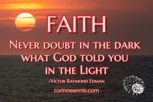 Today's Gold Nugget: FAITH