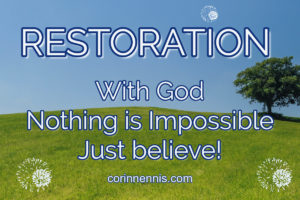5 Keys from Desperation to Restoration