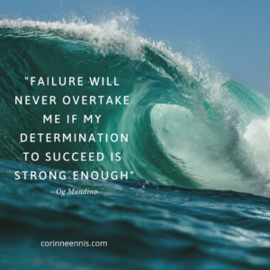 Today's Gold Nugget: DETERMINATION